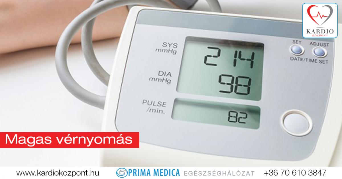 Mennyi ideig tart a magas vérnyomás vérnyomás adatok jelentése